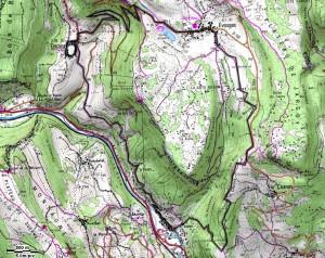 Argis 15 km - D=730 m