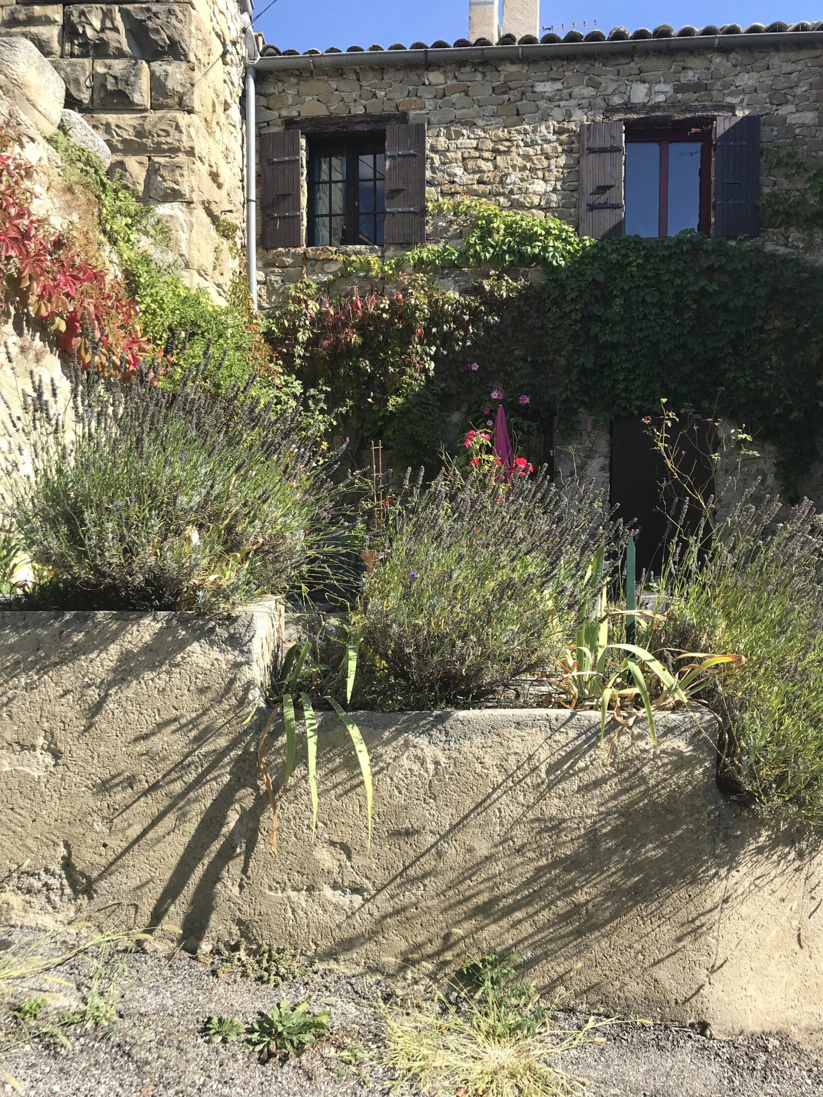 Autre petit jardin à Rosans
