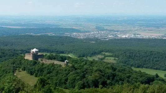 3 Du Mont LUISANDRE Vue Sur Chateau Des ALLYMES
