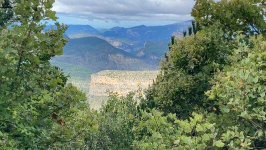 Le Rocher du Caire vu du Montrond... Inhabituel