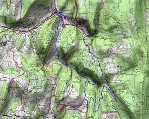 Circuit des cascades de Cerdon